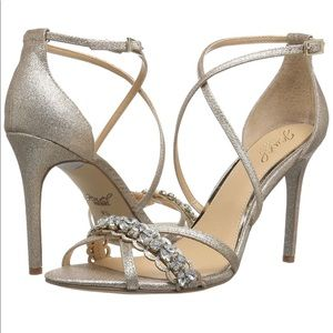 New Badgley Mischka Dress Sandals
